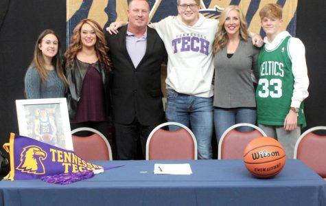 AHS Basketball Star Garrett Golday signs to Tennessee Tech