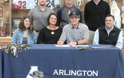 AHS Student-Athlete Standout Tate Kolwyck Signs to Vanderbilt
