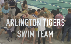 Arlington High School Swim Team: Sharks in the Water