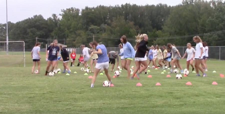 AHS Girls Soccer vs Millington TEST