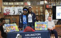 AHS twin ballers, Lanetta and Lanyce Williams, commit to UofM