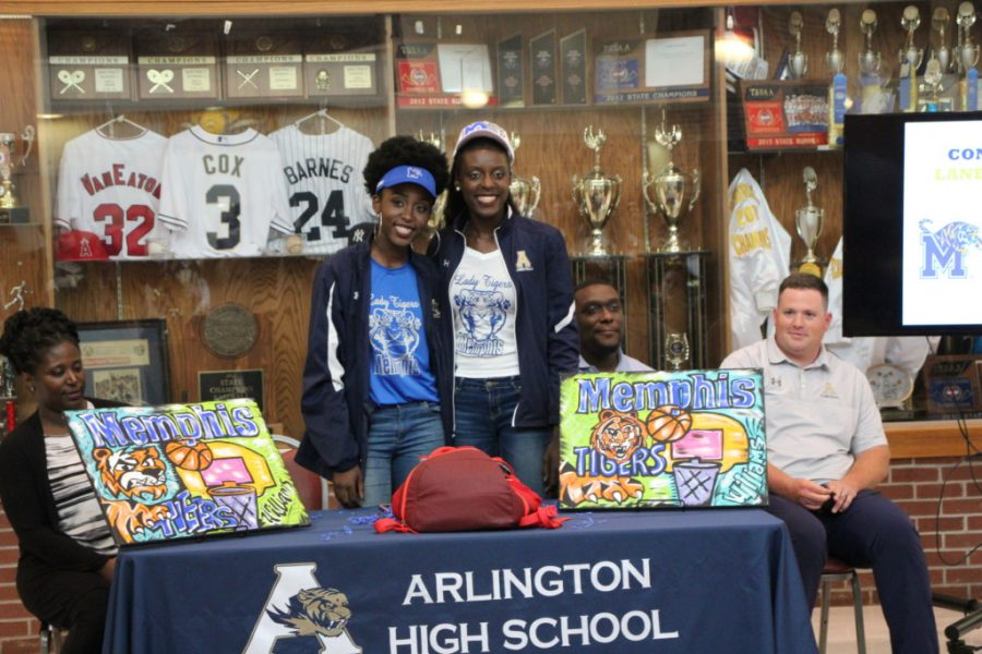 Lanetta and Lanyce Williams commit to the UofM.
