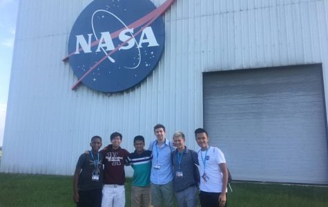 AHS exceptional scholar, Keegan Fong, blasts off to Texas for NASA Internship