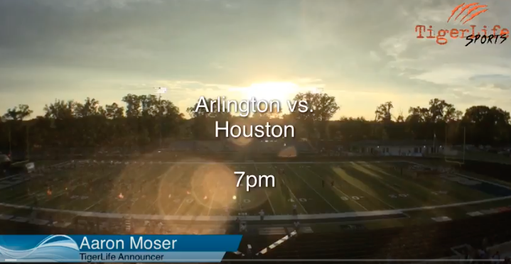 AHS Varsity Football vs Houston – 1st Half