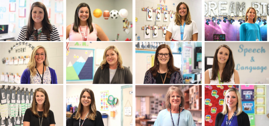 New Teachers at Donelson Elementary