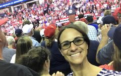 Mrs. McKay's Trump Rally experience