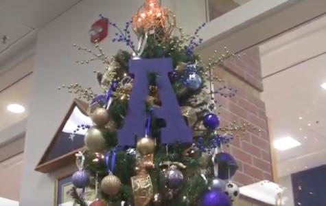 Library Christmas tree