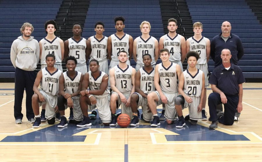 2018-2019 AHS Varsity Basketball Team