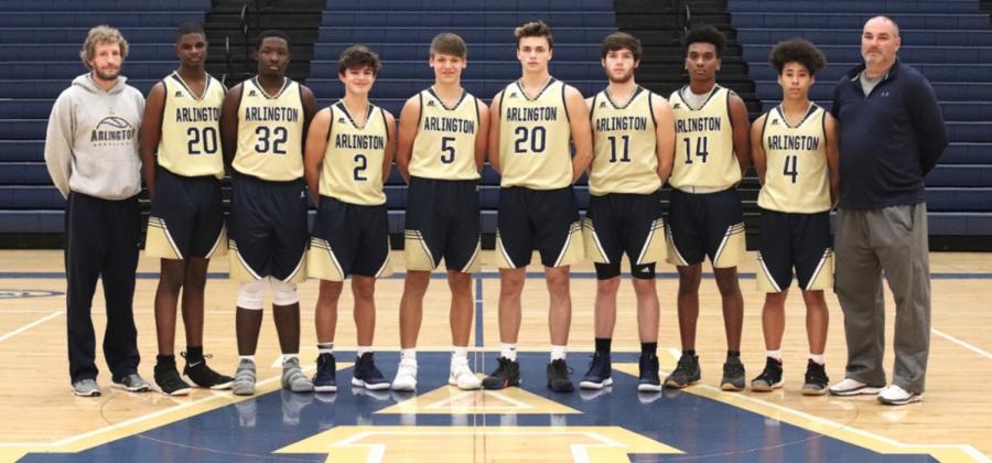 2018-2019 AHS JV Basketball Team