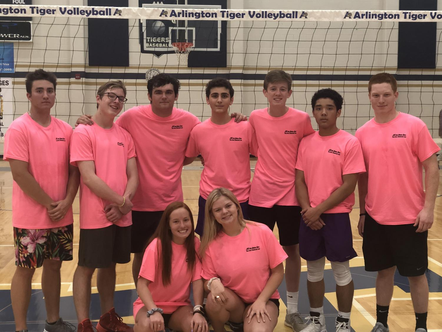 The Boys Volleyball Players