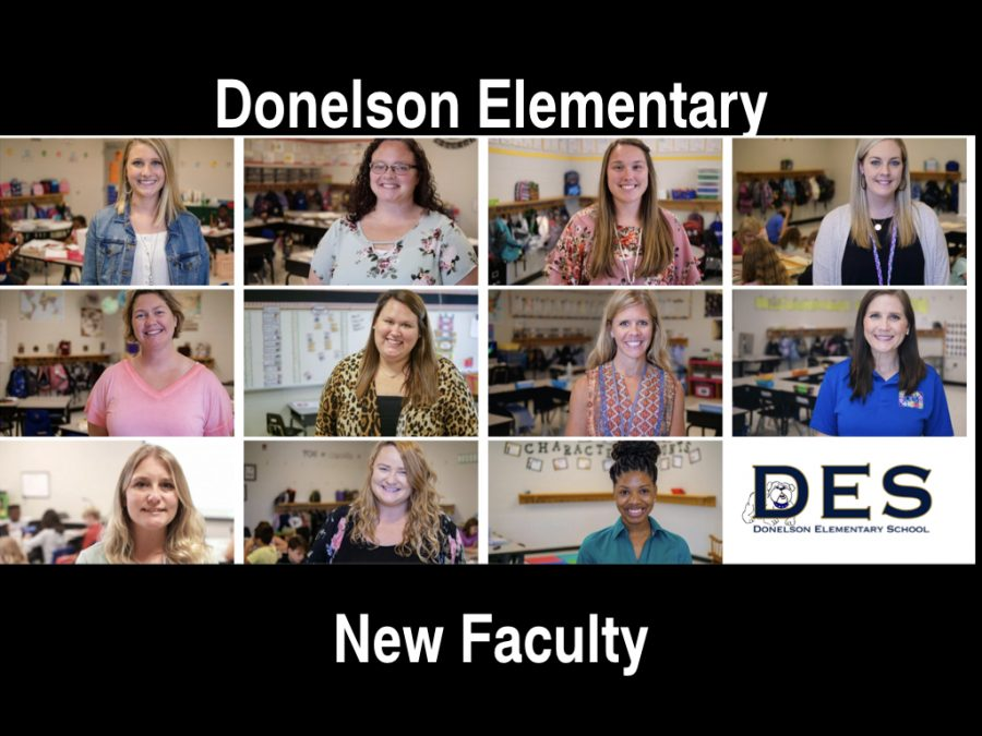 New Donelson Elementary Faculty 2019-2020