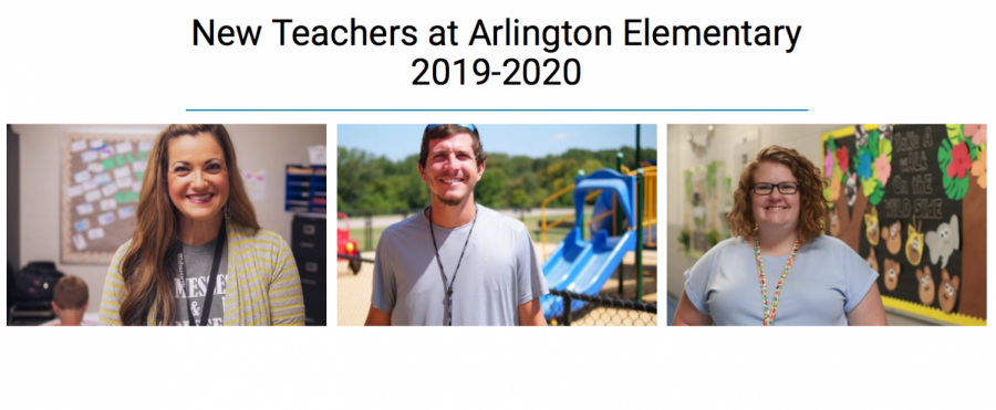 New Teachers at Arlington Elementary 2019-2020