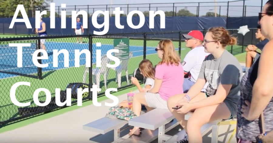 New Tennis Courts in Arlington