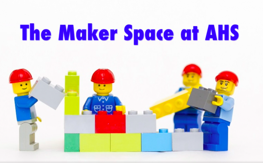The+new+MakerSpace+at+AHS+Library%21+