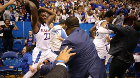 Wild Fight in Kansas Basketball Game!?