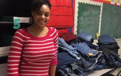 Key Club at AHS Collects Jeans for Teens