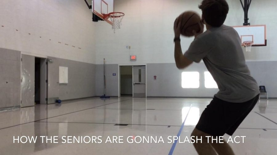 Slow Motion Basketball Shot