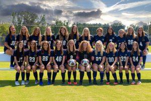 Meet your AHS Lady Tiger JV Soccer Team for 2020