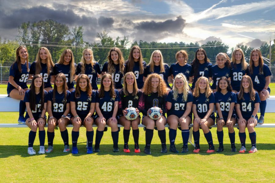 Meet your AHS Lady Tiger JV Soccer Team for 2020