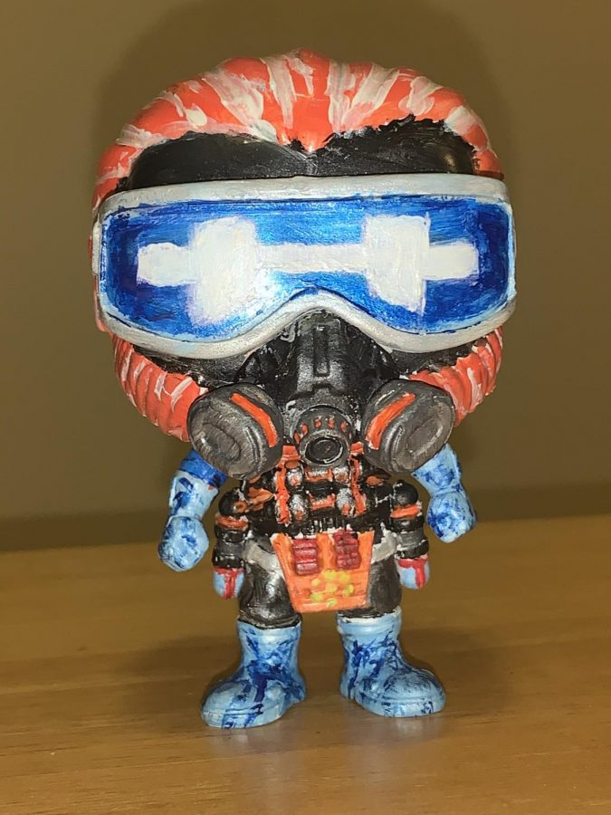 The process of repainting a Funko Pop Time-lapse