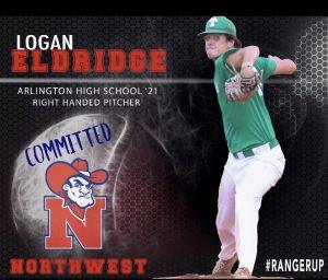 AHS Senior Pitcher Logan Eldridge Commits to Northwest Mississippi College