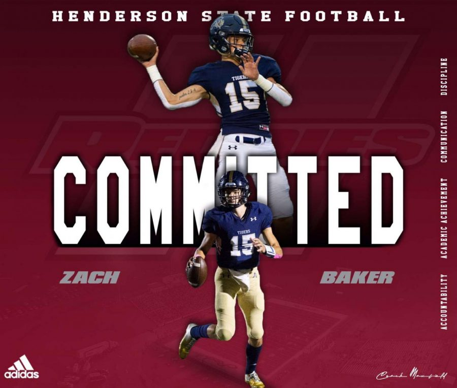 Baker commits to HSU
