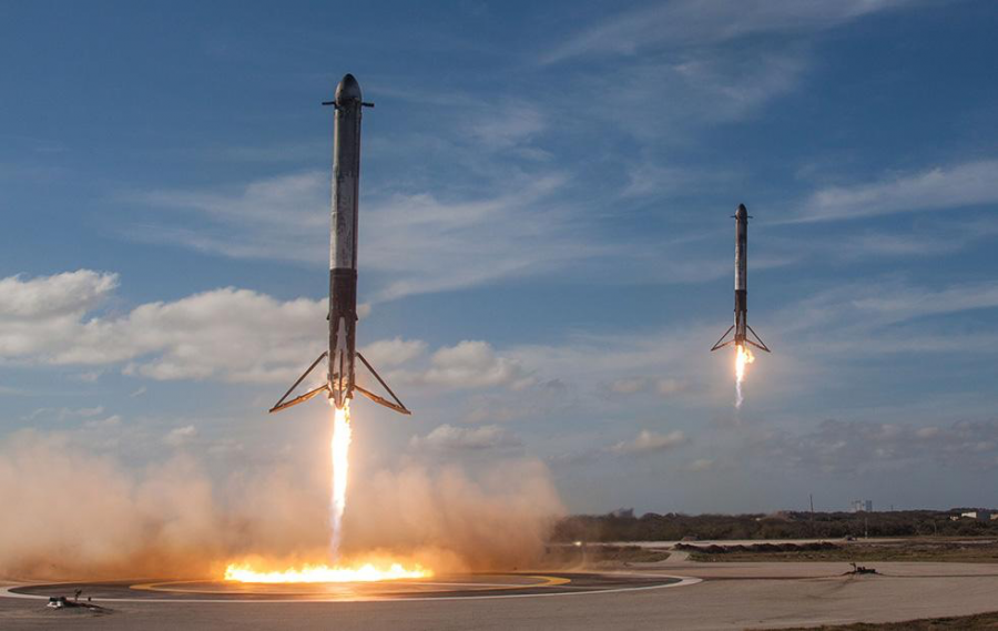 Falcon+9+Launch+for+SXM